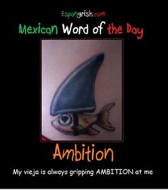 Mexican word of day