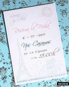 Invitación Paris - La Tienda de Eje360
