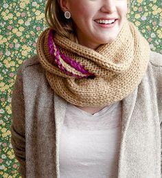 cowl, knit