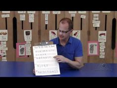 "Writing Conventions:  Teach students that writing is a form of communication and that legibility is important when we print because it allows readers to understand what the writer is communicating.  This ""Print So It's East To Read"" board teaches students how letters should look on a page and on lines.  This teaching tool is effective as it categorizes letters based on letters that go in between, above and below the line without taking too much emphasis away from the actual written product."