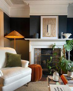 Living Room Lounge, New Living Room, Living Room Interior, Living Spaces, Autumn Interior, Best Interior, Home Interior Design, Space Interiors, Eclectic Design
