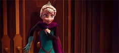Out of that room:  out of the definition of Elsa that room gave her!!! Out of repression!!!! To find herself!!!!