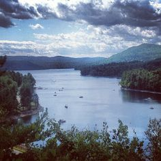 The Great Sacandaga Lake in Northville, NY