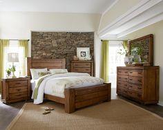 Maverick Queen Bedroom Group by Progressive Furniture