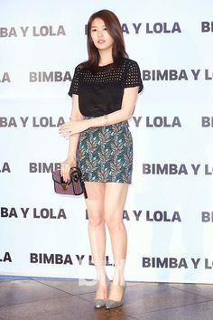 Simply 정소민 Jung So Min: Lovely Jung So Min 정소민 spotted at the 빔바이롤라 (BIMBA Y LOLA) Launch Event