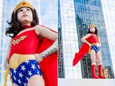 Déguisement Wonder Woman pour petite fille