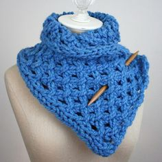 Lattice Cowl Knitting Pattern
