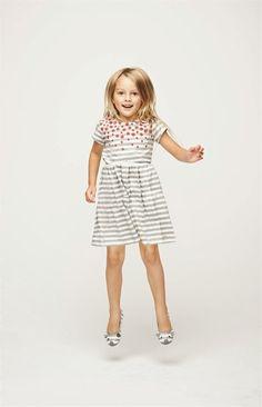 Little Marc Spring/Summer 2014 Lookbook #dress #stripes #girlswear