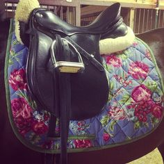 pretty saddle pad