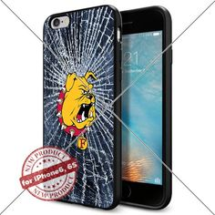 WADE CASE Ferris State Bulldogs Logo NCAA Cool Apple iPhone6 6S Case #1127 Black Smartphone Case Cover Collector TPU Rubber [Break] WADE CASE http://www.amazon.com/dp/B017J7FOCU/ref=cm_sw_r_pi_dp_Qflvwb1YTM896