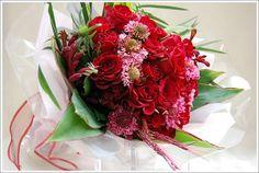 赤い薔薇の花束 / Red Rose Bouquet for propose