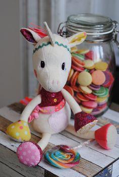 Unicorn Louise Lilliputiens