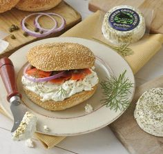 Cypress Grove Chevre PsycheDillic Bagel Sandwhich Recipe