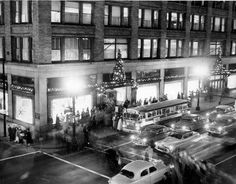 Sibley's Dept. Store - downtown Rochester...always a favorite destination, especially at Christmas!