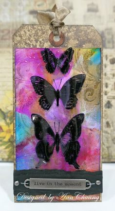 Ann's Cardmaking Garden: Tim Holtz 12 tags of 2015 – september