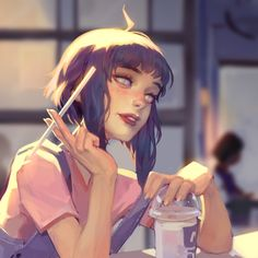 Shared by sara. Find images and videos about naruto, hinata and hinata hyuga on We Heart It - the app to get lost in what you love. Art Manga, Art Anime, Manga Anime, Character Drawing, Character Illustration, Illustration Art, Art Sketches, Art Drawings, Art Et Design