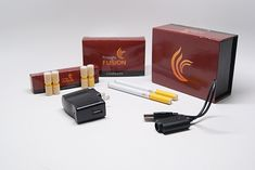 The Firelight Fusion E Cigarette Starter Kit. It's the basic kit but at it's ;low price point, it's a great choice for the ones interested in getting into vaping instead of smoking,