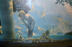 Maxfield Parrish/ Parrish Print / Daybreak by ChristiesCurios