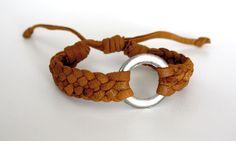 Solor Weave Bracelet from www.kurakura.co.za Woven Bracelets, Bangles, Leather Weaving, Weave, Jewelry, Fabric Cuff Bracelets, Bangle Bracelets, Jewellery Making, Bracelets