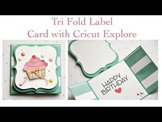 ▶ Trifold Card with Cricut Explore - YouTube