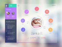 Kindergarten app by Jakub Antalík
