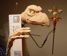 Skeksis Work in progress 1 by ~Skulpturen on deviantART