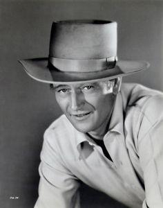 dedicatedtoduke: Portrait by Ray Jones, 1942 Westerns, John Wayne Movies, Actor John, True Grit, Hooray For Hollywood, Western Movies, Classic Films, Music Film, Looks Cool