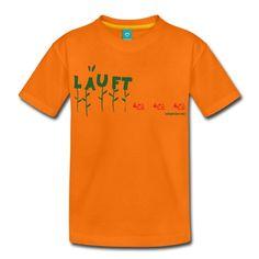 läuft - Tshirt von deinem Kindergottesdienst-Coach, Aufdruck, Spruch