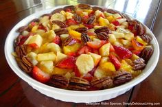 Marvelous Inspirations for May! Read my Simply Delicious Living Newsletter for great recipes & joyous living inspirations:  (Pictured: All- Natural Coconut Pudding with Fresh Fruit Topping) READ: http://conta.cc/1KH8j9V