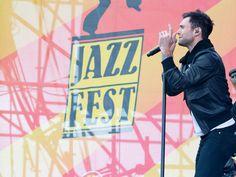 Jazz Fest is held in New Orleans in the end of April/beginning of May each year. In addition to local performers, past performers have included James Taylor, Eric Clapton, Tony Bennett and Dave Matthews Band.