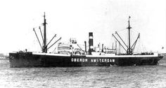 OBERON Bouwjaar 1911, grt 1996 Eigenaar Koninklijke Nederlandsche Stoomboot Maatschappij N.V. http://koopvaardij.blogspot.nl/2016/07/27-juli-1941.html