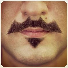 Batman Mustache! Do it!