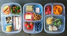 Are you in need of easy, healthy lunch box ideas? Here are 100 of them, from protein-rich foods and grains to fruits, veggies, and fun extras!