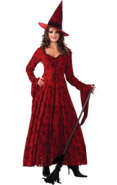 Crimson Witch Costume