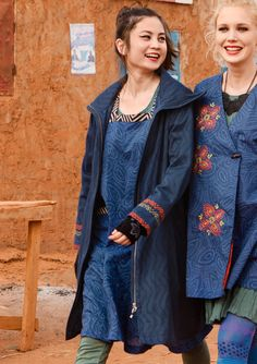 """""""Zaza"""" cotton coat – SALE - coats & jackets – GUDRUN SJÖDÉN – Webshop, mail order and boutiques 