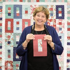 A complete Index of MSQC Quilting Tutorials - notice the quilt in the background: great layout!Discover & Learn — Quilting Tutorials from Missouri Star Quilt CompanyMake a Nine Patch on Point Quilt with Jenny Doan of Missouri Star! Missouri Quilt Tutorials, Quilting Tutorials, Quilting Designs, Quilting Projects, Msqc Tutorials, Jelly Roll Quilt Patterns, Quilt Patterns Free, Block Patterns, Strip Quilts