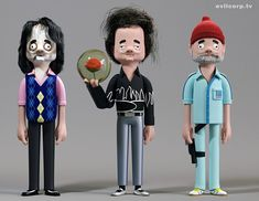 Bill Murray Vinyl Idols by Evil Corp - Evilcorp.TV