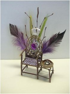 A Royal Fairy Chair | Crafts Blog