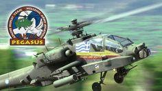 "AH-64D(HA) - ""Pegasus"" Apache Demo Team - Hellenic Army Aviation - Tatoi..."