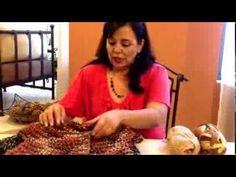 Chaleco con granizos - Tejiendo con Laura Cepeda - YouTube