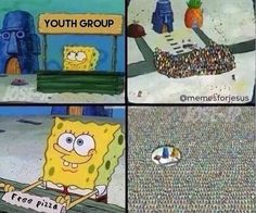 when-you-put-pizza-out-at-youth-group  #memes #christian