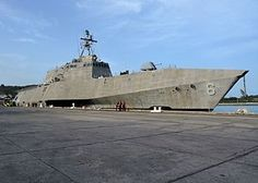 USSJackson(LCS-6)is anIndependence-classlittoral combat ship and the first ship to be named forJackson, the capital ofMississippi. Commissioned: 5 December 2015. Status: Still in Active Service.