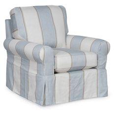 Image Result For Sunset Trading Horizon Slipcovered Swivel Chair
