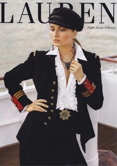 Ralph Lauren - Women's FW 2013 Collection: The hat is the epitome of nonchalant chic.