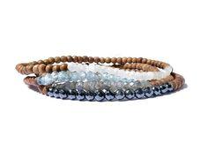 Gemstone Bracelets, Gemstone Beads, Elastic Thread, White Moonstone, Simple Jewelry, Labradorite, Gemstones, Silver, Etsy