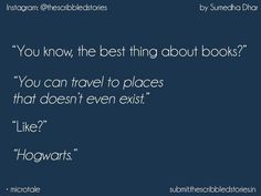 But hogwarts does exist muggle Harry Potter Puns, Harry Potter Feels, Harry Potter Room, Harry Potter Universal, Harry Potter World, Hp Quotes, Tiny Tales, Harry Potter Collection, Potter Facts