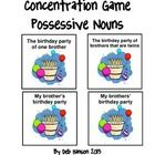 FREE!  This is a hands-on game your students can play to practice how to correctly use the apostrophe when forming singular possessives and plural possess...