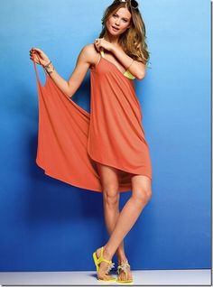 DIY (Or Purchase from VS) open back swim cover!! Awesome!