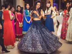 Best Lehenga Choli Designs for Navratri 2019 - Buy lehenga choli online Choli Designs, Lehenga Designs, Indian Dresses, Indian Outfits, Sangeet Outfit, Bollywood Lehenga, Blue Lehenga, Party Wear Lehenga, Bridal Lehenga