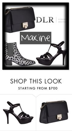 """""""DLR"""" by lolitapapita ❤ liked on Polyvore featuring Yves Saint Laurent, Jimmy Choo and dlrboutique"""